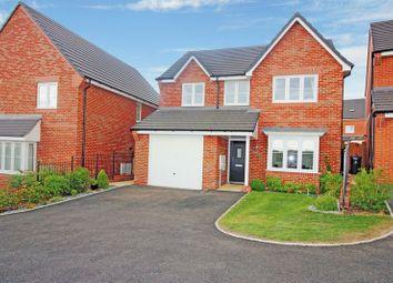 Thumbnail 4 bed detached house for sale in Challenge Close, Bradeley Village, Burslem, Stoke-On-Trent