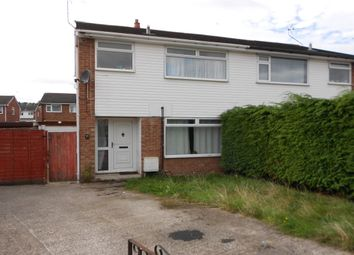 Thumbnail 3 bed semi-detached house for sale in Park Hill Avenue, Gwersyllt, Wrexham