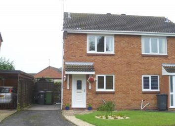 Thumbnail 2 bed semi-detached house to rent in Melrose Drive, Perton, Wolverhampton