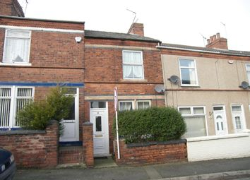 Thumbnail 2 bed terraced house to rent in Lincoln Street, Tibshelf, Alfreton