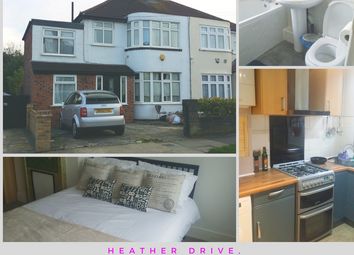 Thumbnail Room to rent in Heather Drive, Romford, Essex