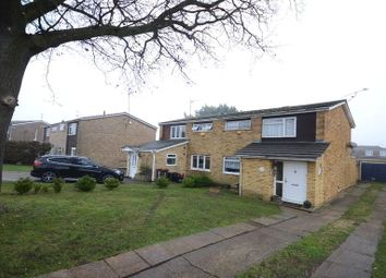Thumbnail 3 bedroom semi-detached house for sale in Colemans Moor Road, Woodley, Reading