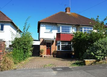 Thumbnail 3 bed semi-detached house to rent in Hillside Avenue, Woodford Green