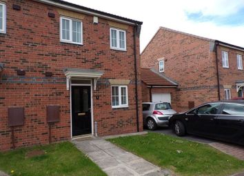 Thumbnail 2 bed semi-detached house for sale in Horton Close, Consett