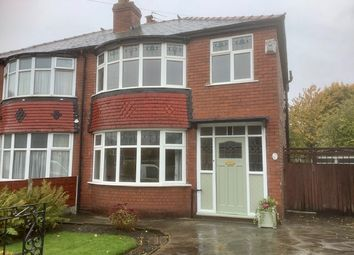 Thumbnail 3 bed semi-detached house for sale in Broseley Road, Firswood, Manchester