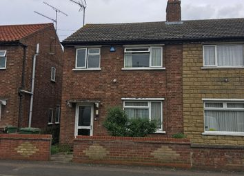 Thumbnail 3 bed semi-detached house to rent in Albany Road, Wisbech