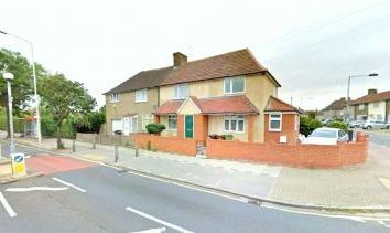 Thumbnail 3 bed terraced house to rent in Hedgemans Road, Dagenham, Essex, Barking