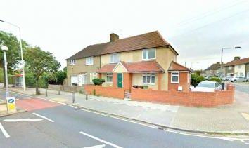 Thumbnail 3 bedroom terraced house to rent in Hedgemans Road, Dagenham, Essex, Barking