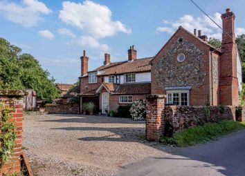 Thumbnail 4 bed detached house for sale in The Moor, Reepham, Norwich