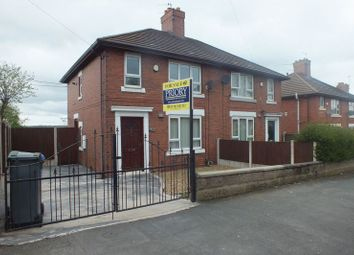 Thumbnail 2 bed semi-detached house for sale in Sherwin Road, Stanfields, Stoke-On-Trent