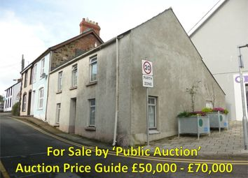 Thumbnail 2 bedroom end terrace house for sale in 2 Ropewalk, Fishguard, Pembrokeshire