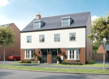 "Thumbnail 3 bedroom semi-detached house for sale in ""Kennett"" at Broughton Crossing, Broughton, Aylesbury"