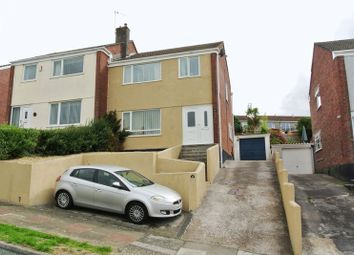 Thumbnail 3 bed semi-detached house for sale in Shallowford Road, Plymouth