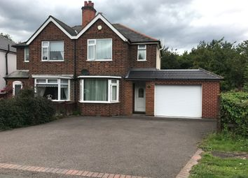 Thumbnail 3 bed semi-detached house to rent in Leicester Road, Groby