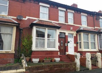 Thumbnail 2 bedroom terraced house for sale in Keswick Road, Blackpool