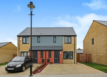 Thumbnail 3 bedroom semi-detached house for sale in Elvedon Close, Ipswich