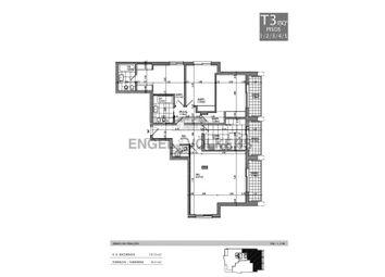 Thumbnail 3 bed apartment for sale in Arcadas Do Parque, L. Poente, Av. Aida 87A, 2765-187, Portugal
