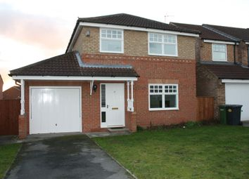 Thumbnail 4 bed detached house to rent in Showfield Drive, Easingwold, York