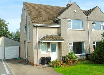 Thumbnail 3 bed semi-detached house for sale in Beechwood Drive, Penarth