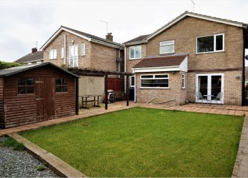 Thumbnail 4 bedroom detached house for sale in Snoots Road, Whittlesey