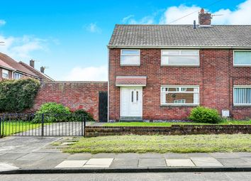 Thumbnail 3 bedroom semi-detached house for sale in Lilburn Road, Shiremoor, Newcastle Upon Tyne