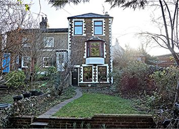 Thumbnail 4 bed end terrace house for sale in Aldenham Road, Oxhey Village, Watford