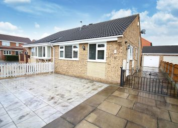 Thumbnail 2 bed semi-detached bungalow for sale in Fairfield Close, Sherburn In Elmet, Leeds