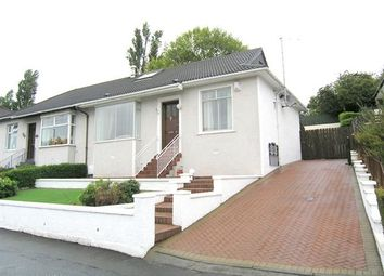 Thumbnail 3 bed semi-detached bungalow for sale in Kings Park Avenue, Rutherglen, Glasgow
