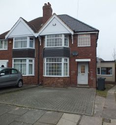 Thumbnail 3 bedroom semi-detached house to rent in Temple Avenue, Hall Green, Birmingham