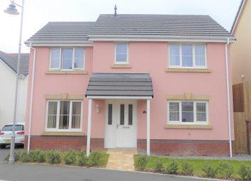 Thumbnail 3 bed detached house for sale in Clos Yr Eryr, Coity, Bridgend.