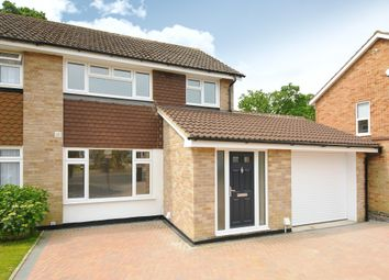 Thumbnail 4 bed semi-detached house to rent in Fellowes Way, Hildenborough