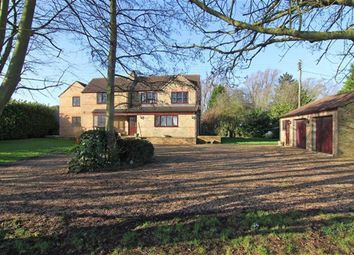 Thumbnail 5 bed detached house for sale in Speechley Drove, Borough Fen, Peterborough