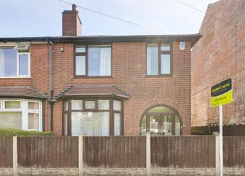 Thumbnail 3 bed semi-detached house for sale in Querneby Road, Mapperley, Nottinghamshire