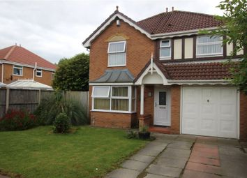 Thumbnail 4 bed detached house for sale in Spreyton Close, Liverpool, Merseyside