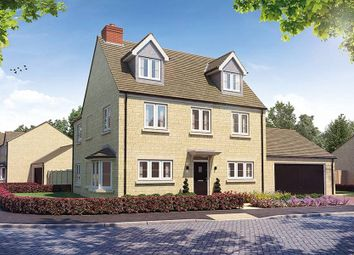 "Thumbnail 4 bed detached house for sale in ""The Oatvale"" at Church Road, Long Hanborough, Witney"