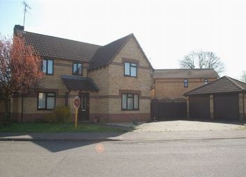 Thumbnail 4 bed detached house for sale in Rochelle Way, Duston, Northampton