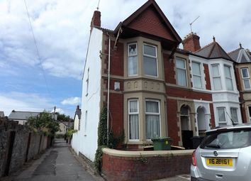 Thumbnail 4 bedroom end terrace house for sale in Mafeking Road, Roath, Cardiff