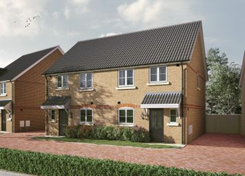 Thumbnail 3 bed semi-detached house for sale in Fairfax Lane, Royston