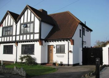 Thumbnail 3 bed property to rent in Manor Way, Egham, Surrey