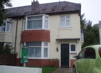 Thumbnail 4 bed terraced house to rent in Upper Bevendean Avenue, Brighton