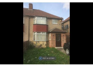 Thumbnail 3 bed semi-detached house to rent in Merriman Road, London