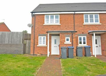 Thumbnail 2 bedroom mews house to rent in Outlands Drive, Hinckley, Leicestershire