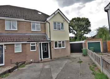 Thumbnail 4 bed semi-detached house to rent in Raven Crescent, Billericay