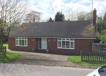 Thumbnail 3 bed bungalow for sale in Turnpike, The Holborn, Madeley, Staffordshire