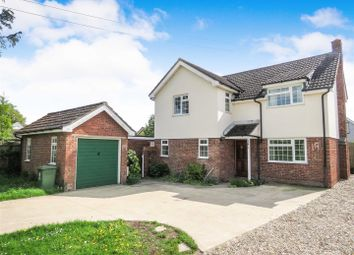 Thumbnail 3 bed detached house to rent in Whitecroft Road, Meldreth, Royston