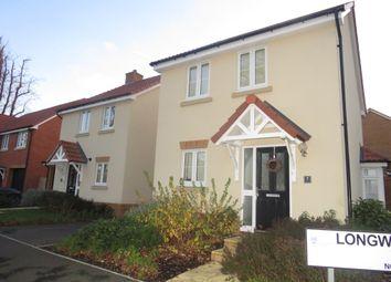 Thumbnail 2 bed link-detached house for sale in Longwood Copse, Beggarwood, Basingstoke
