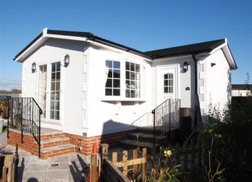 Thumbnail 1 bed mobile/park home for sale in Swanbridge Park Homes, London Road, Dorchester