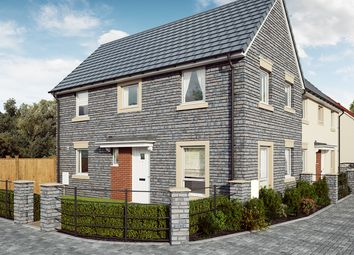 "Thumbnail 3 bed semi-detached house for sale in ""The Whitebeam"" at Mill Lane, Bitton, Bristol"