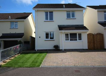 Thumbnail 3 bed detached house for sale in Wrefords Close, Exeter