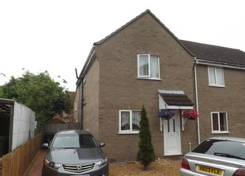 Thumbnail 3 bedroom semi-detached house to rent in Lime Kiln Lane, Thetford